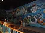 I think the mural looks good even without the lights