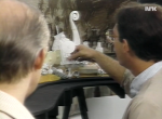 Paul Torringino showing of the set of Maelstrom.
