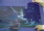 Sketch from the North Sea in the lost Maelstrom.