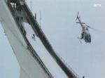 Filming of the skijump.