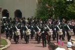 From the opening show. The Royal Norwegian Guards arrive.